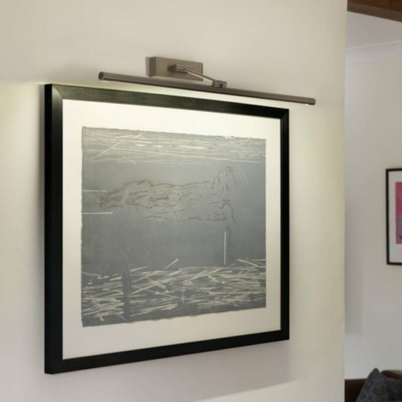 Astro Goya 1115009 képmegvilágító lámpa  matt nikkel   fém