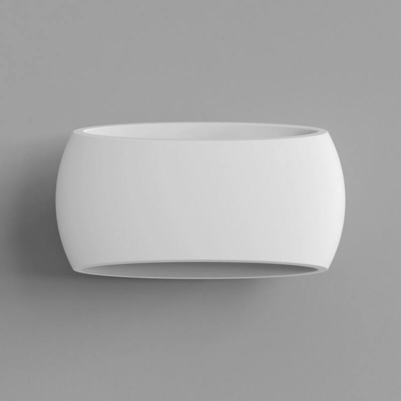 Astro Aria 1300001 gipsz fali lámpa fehér gipsz