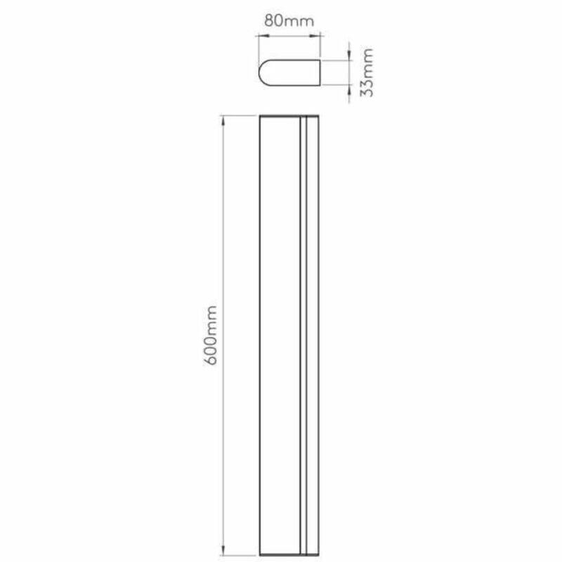 Astro Artemis 1308006 tükör világítás  króm   fém
