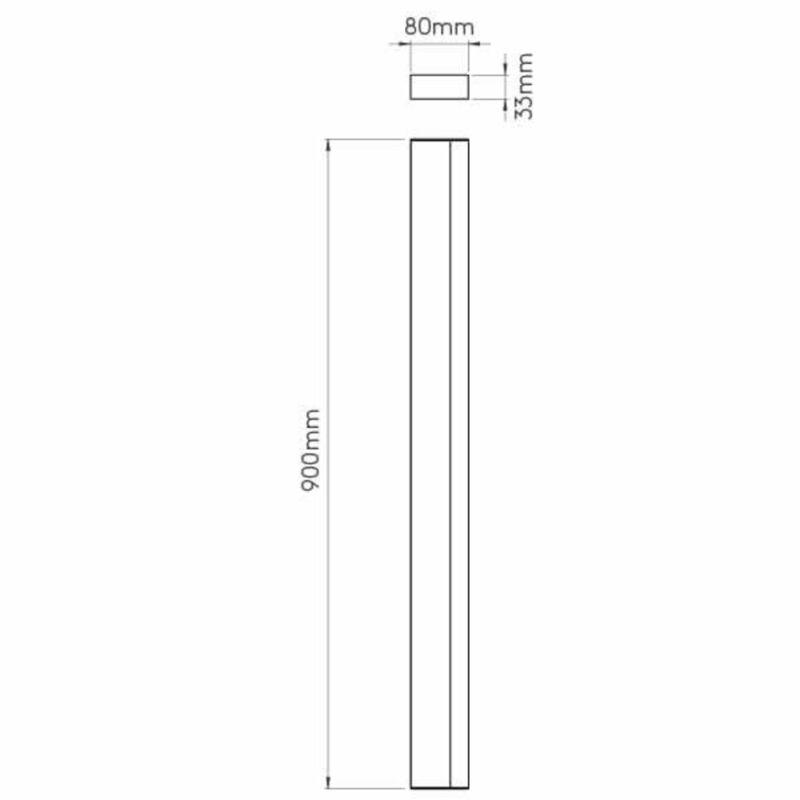 Astro Sparta 1322007 fürdőszoba fali lámpa  króm   fehér   fém