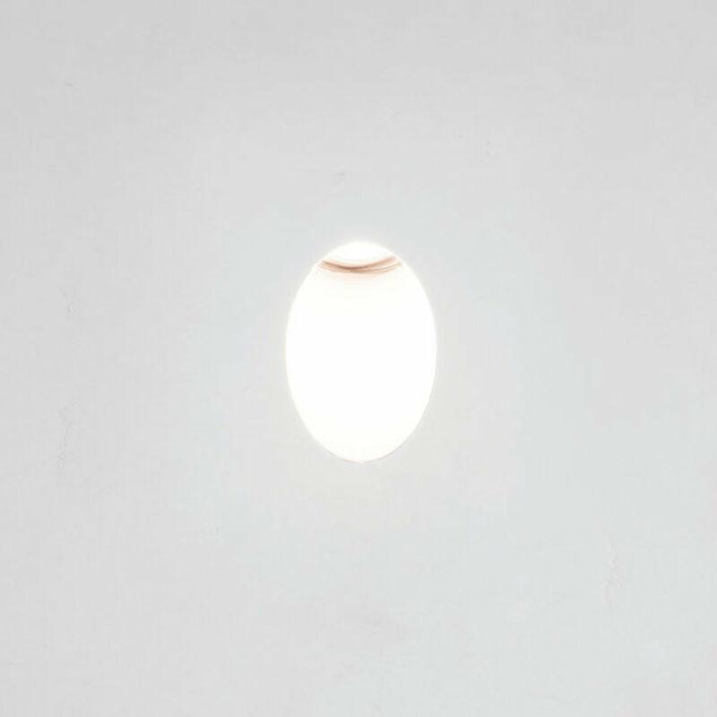 Astro Leros 1342002 süllyesztett lámpa  fehér   fém