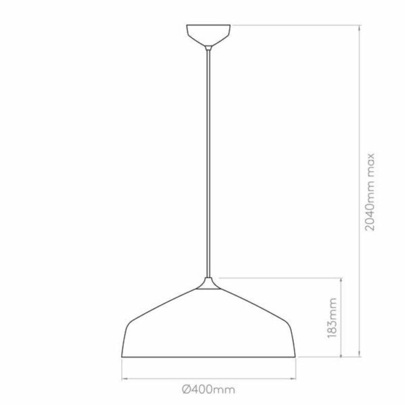 Astro Ginestra 1361012 konyhapult világítás fehér fém fém