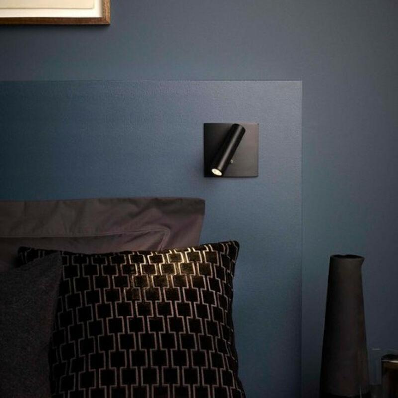 Astro Enna Square Switched LED 1058085 fali lámpa kapcsolóval bronz bronz