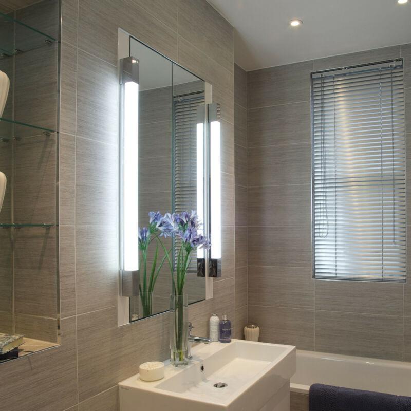Astro Romano 1150001 fürdőszoba fali lámpa  króm   fehér   fém