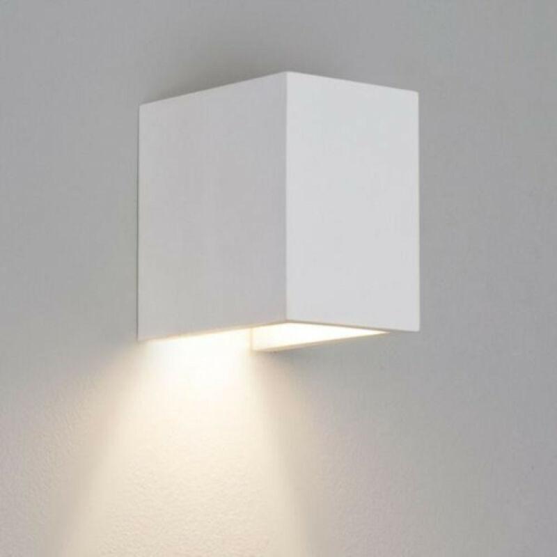 Astro Parma 1187009 gipsz fali lámpa fehér gipsz