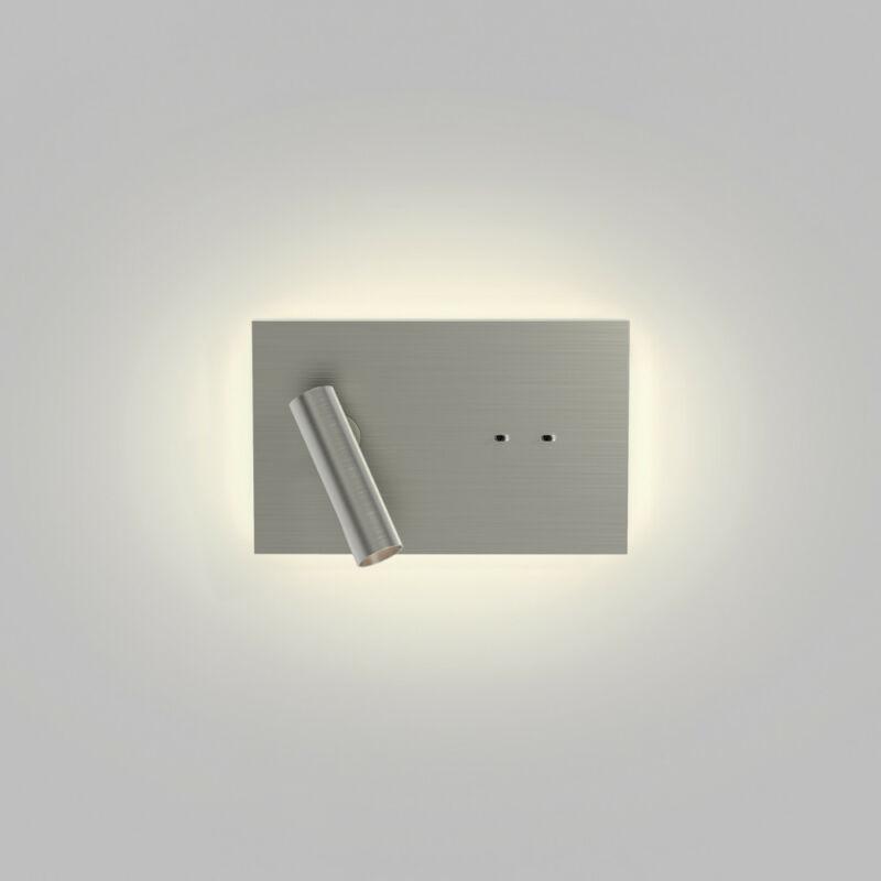 Astro Edge Reader Mini 1352026 fali olvasólámpa matt nikkel