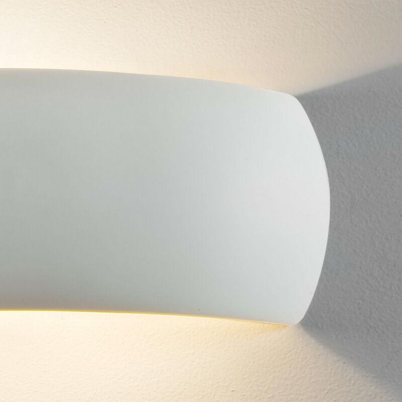 Astro Milo 1299002 fürdőszoba fali lámpa  fehér   kerámia