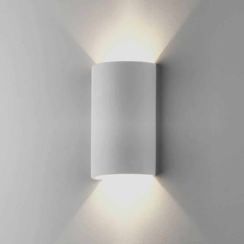 Astro 1350003 gipsz fali lámpa  fehér   gipsz