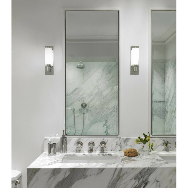 Astro Verona 1147001 fürdőszoba fali lámpa  króm   fehér   fém