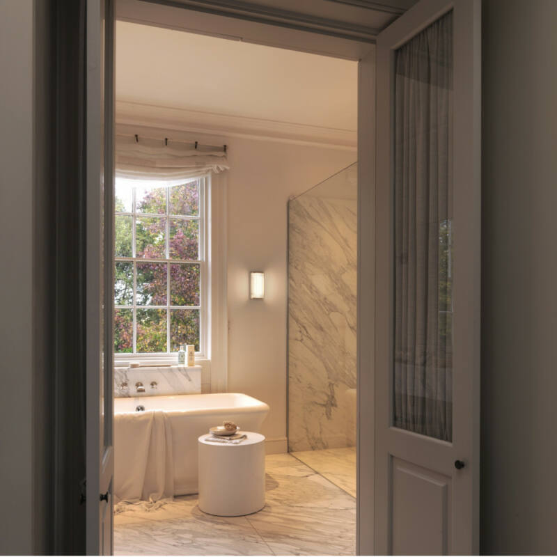 Astro Versailles 1380001 fürdőszoba fali lámpa  króm   átlátszó