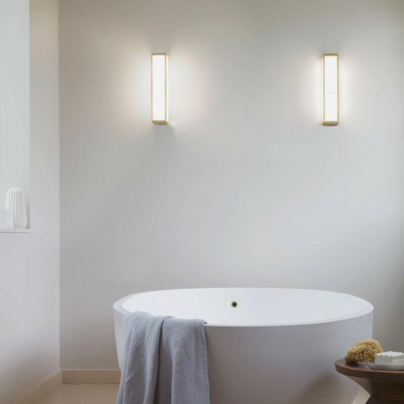 Astro Mashiko 1121006 fürdőszoba fali lámpa króm fehér fém