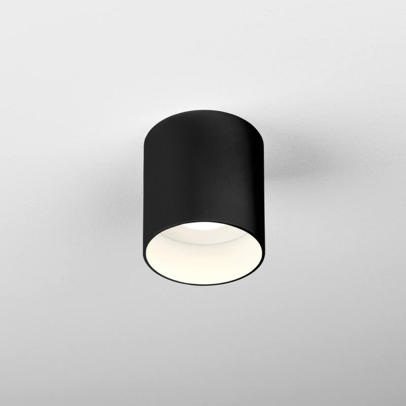 Astro Osca 1252023 fürdőszoba mennyezeti lámpa  fekete   fém