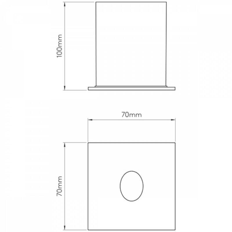 Astro Tango 1175010 kültéri fali led lámpa  króm   fém