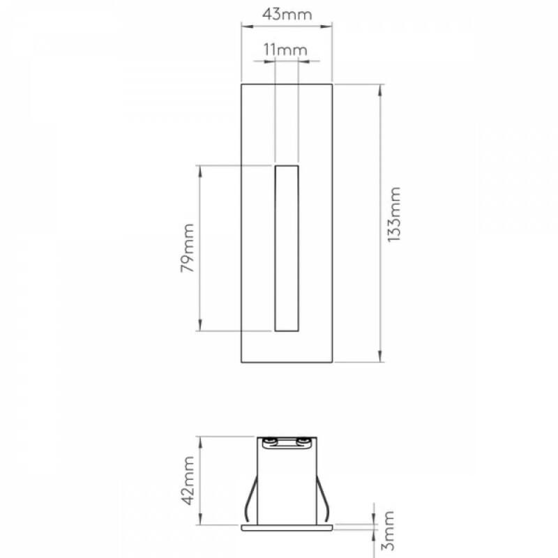 Astro Borgo 1212031 falba építhető lámpa