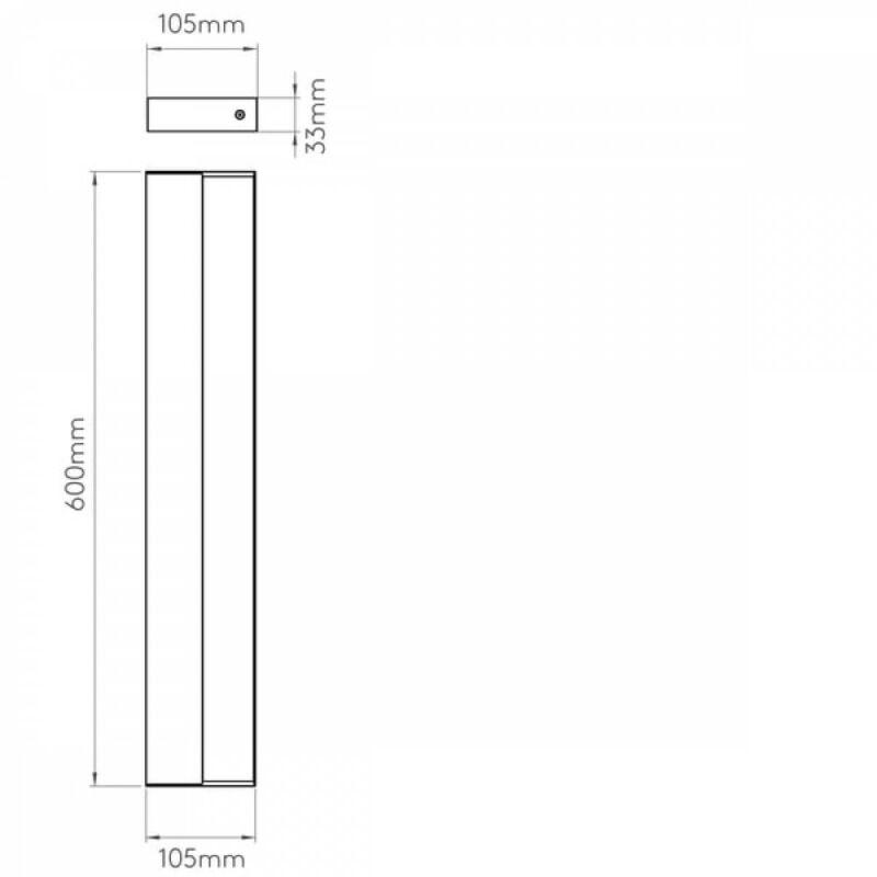 Astro Axios 1307007 fürdőszoba fali lámpa  króm   fém