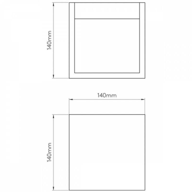 Astro Pienza 1196006 gipsz fali lámpa fehér gipsz