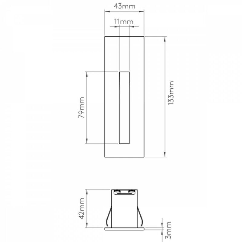 Astro Borgo 1212029 falba építhető lámpa