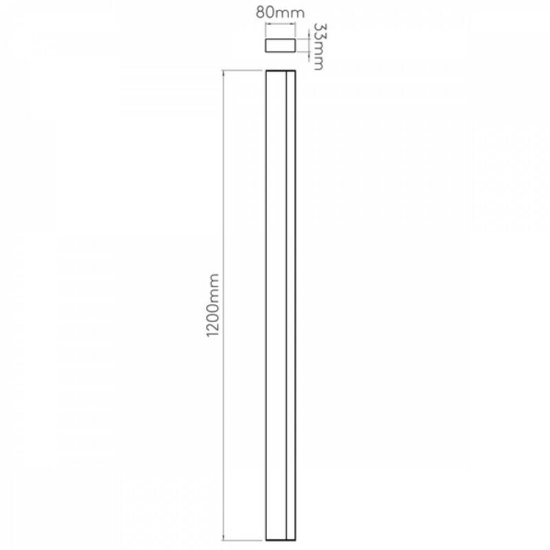 Astro Sparta 1322005 fürdőszoba fali lámpa  króm   fém