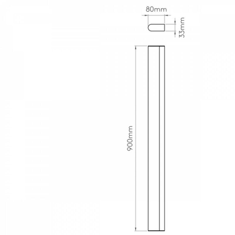 Astro Artemis 1308007 tükör világítás  króm   fém