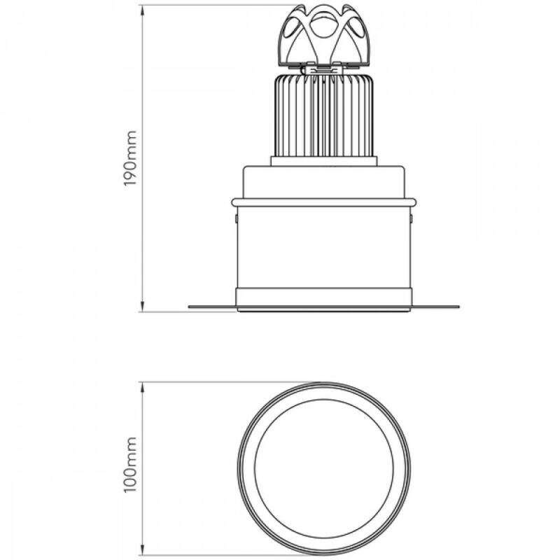 Astro Void 1392003 álmennyezetbe építhető lámpa