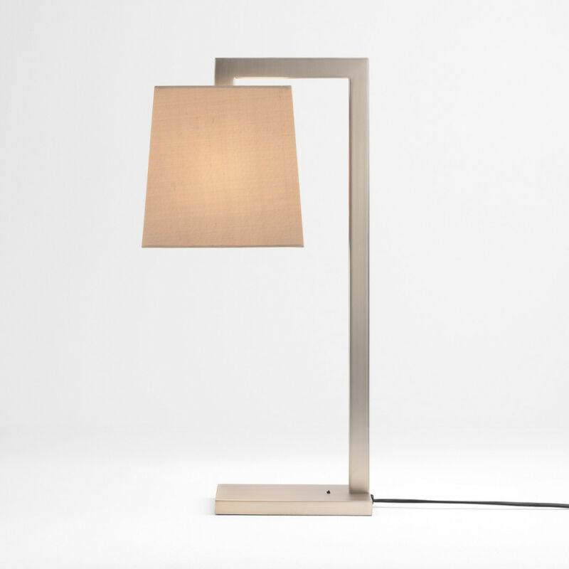 Astro Ravello 1222008 éjjeli asztali lámpa  nikkel   fém