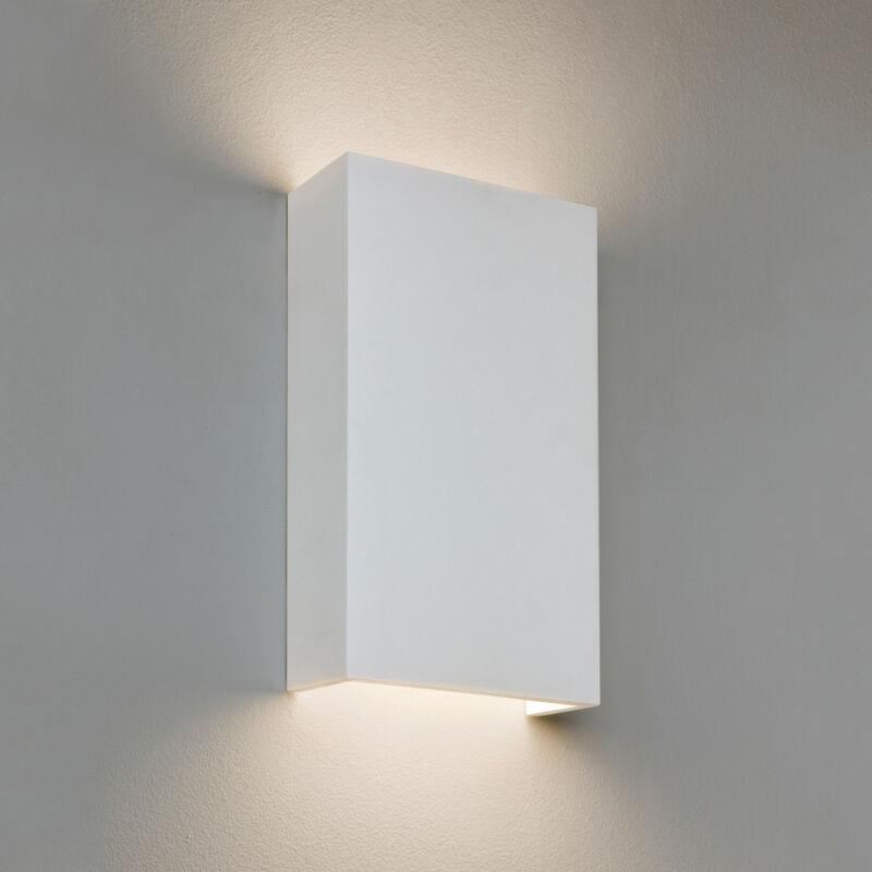 Astro Rio 1325010 gipsz fali lámpa  fehér   gipsz