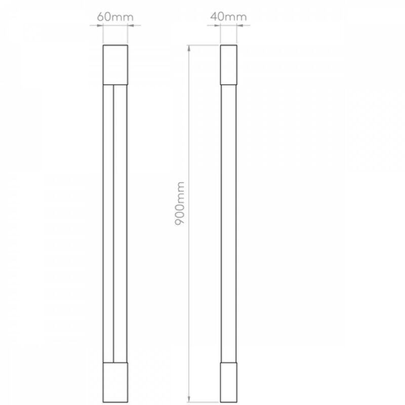 Astro Palermo 1084022 fürdőszoba fali lámpa króm fém