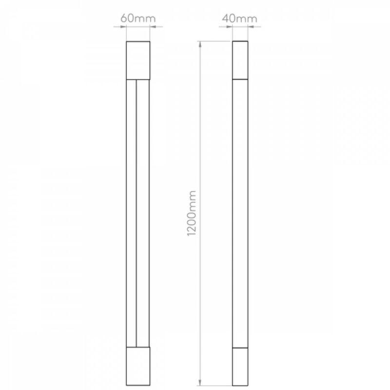 Astro Palermo 1084023 fürdőszoba fali lámpa króm fém