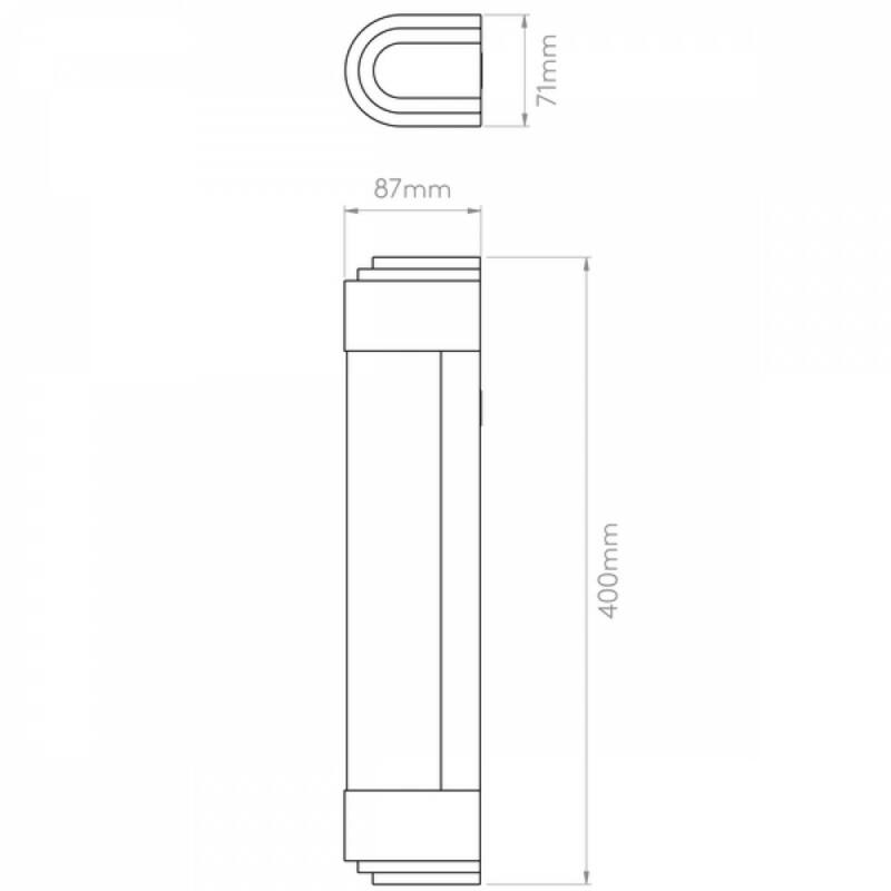 Astro Belgravia 1110009 fürdőszoba fali lámpa  bronz   fehér   bronz