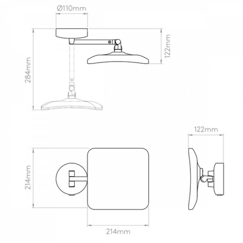 Astro Mascali 1373003 fürdőszoba fali lámpa