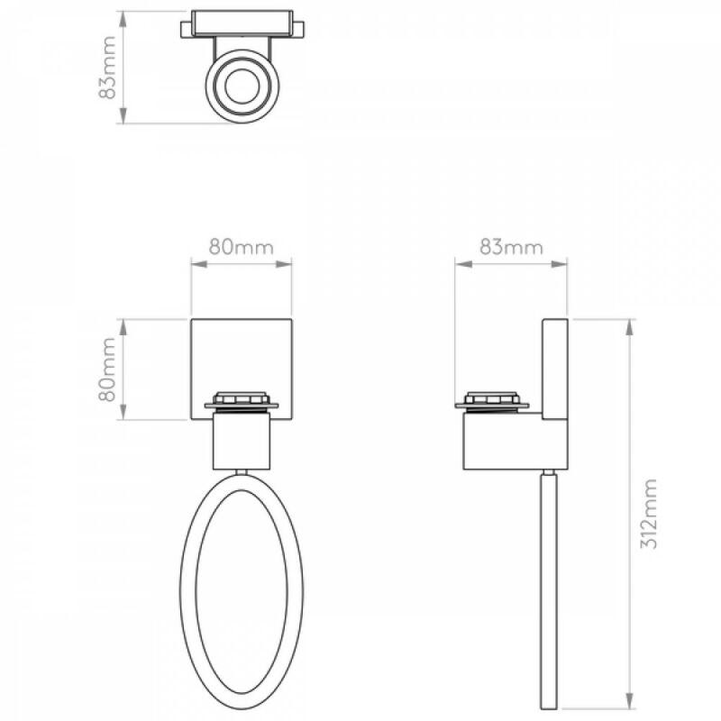 Astro Lima 1318001 fali lámpa  króm   fém