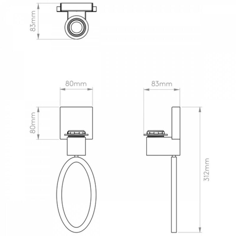 Astro Lima 1318002 fali lámpa  nikkel   fém