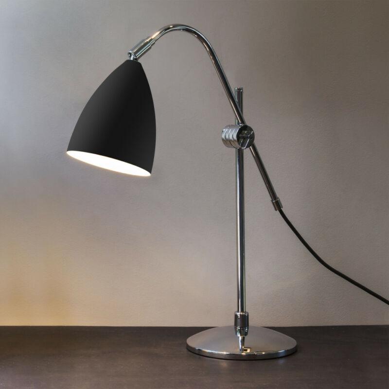 Astro Joel 1223011 éjjeli asztali lámpa króm fekete fém