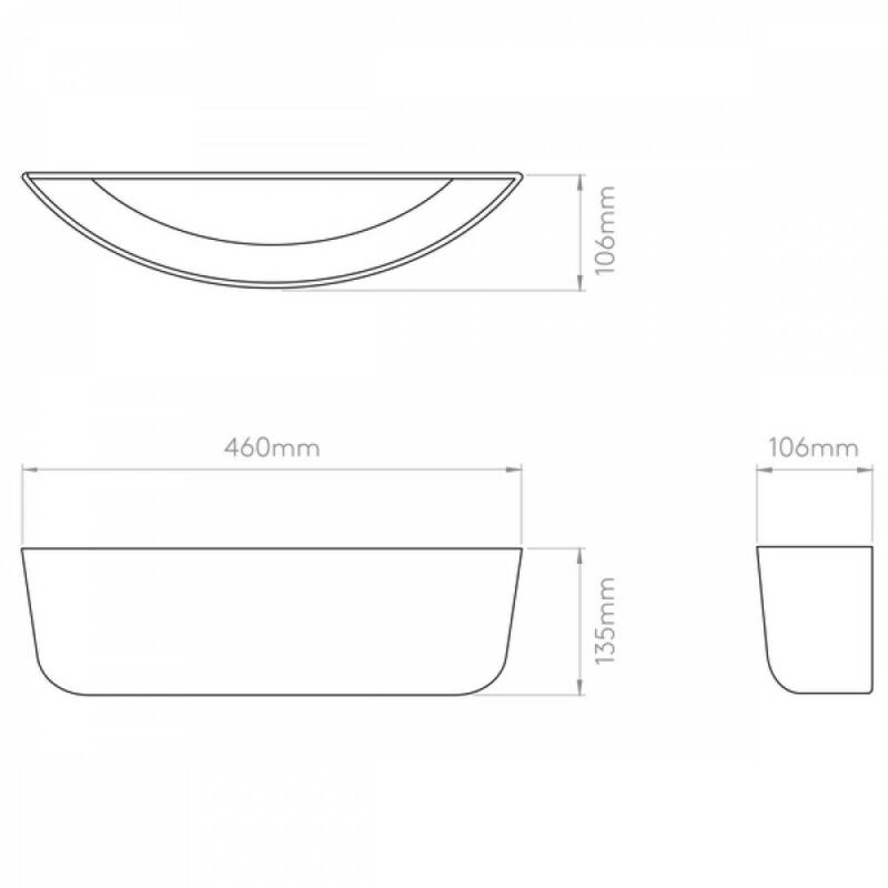 Astro Gosford 1383002 fürdőszoba fali lámpa fehér kerámia