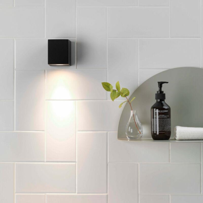 Astro Chios 80 1310002 fürdőszoba fali lámpa fekete fém