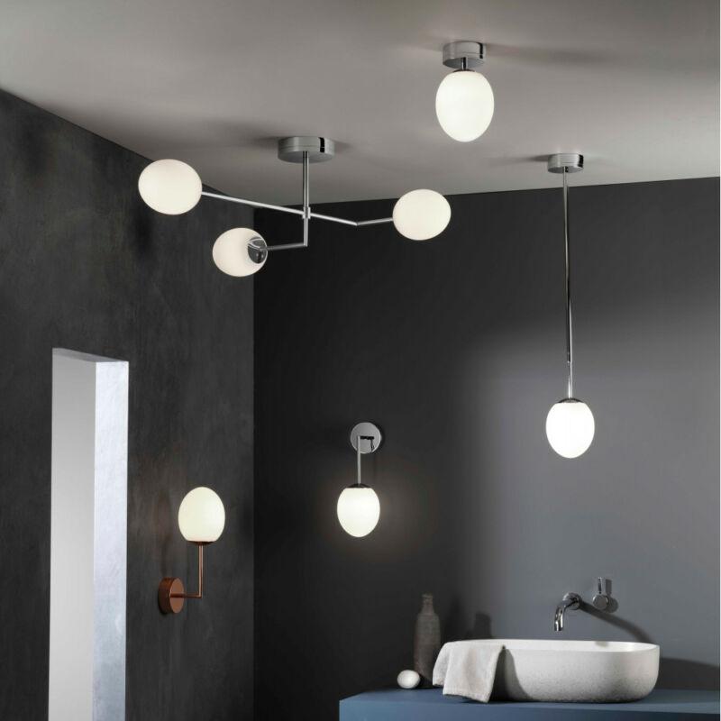Astro Kiwi 1390003 fürdőszoba fali lámpa  króm   fehér   fém