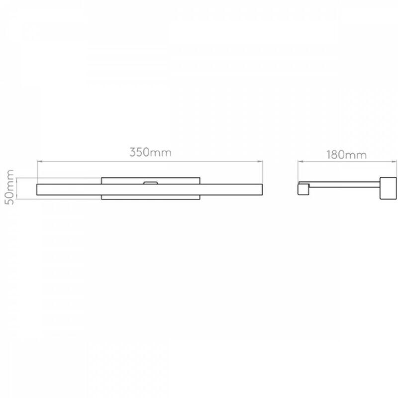 Astro Teetoo 1161008 képmegvilágító lámpa  nikkel   fém