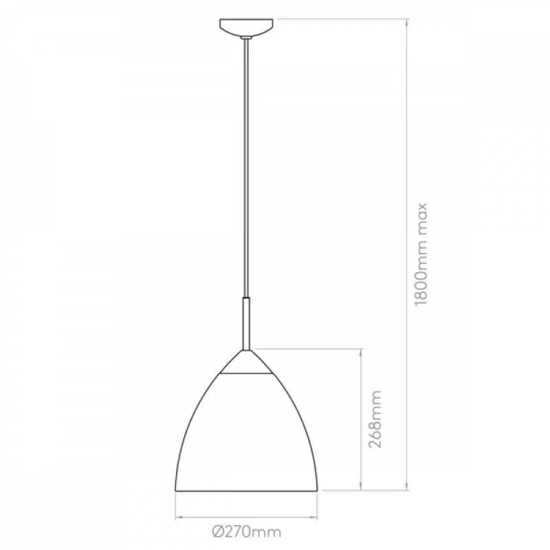 Astro Joel 1223025 konyhapult világítás króm krém fém