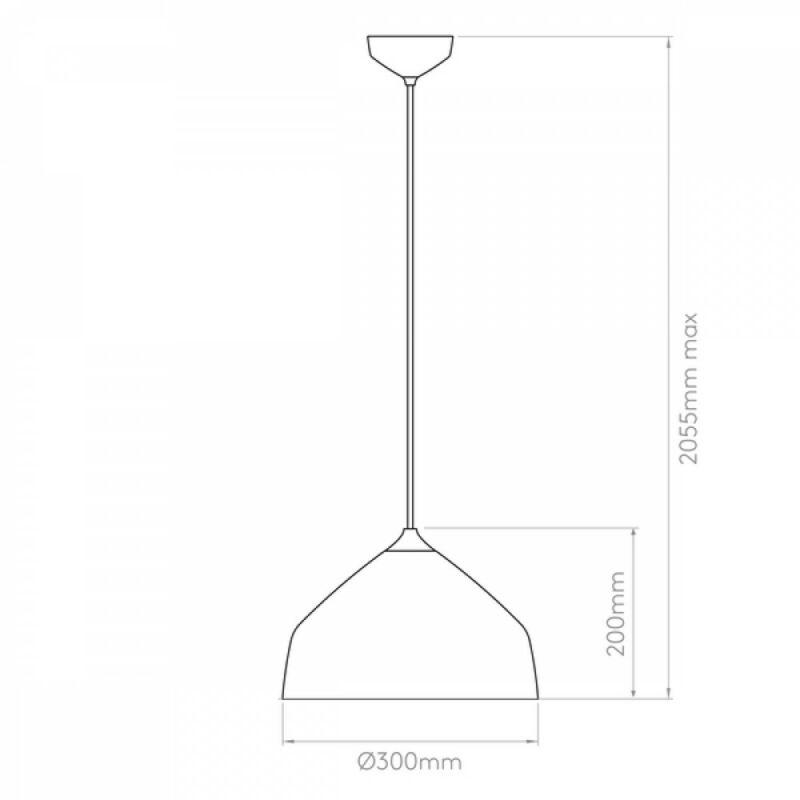 Astro Ginestra 1361003 konyhapult világítás világosszürke világosszürke fém fém