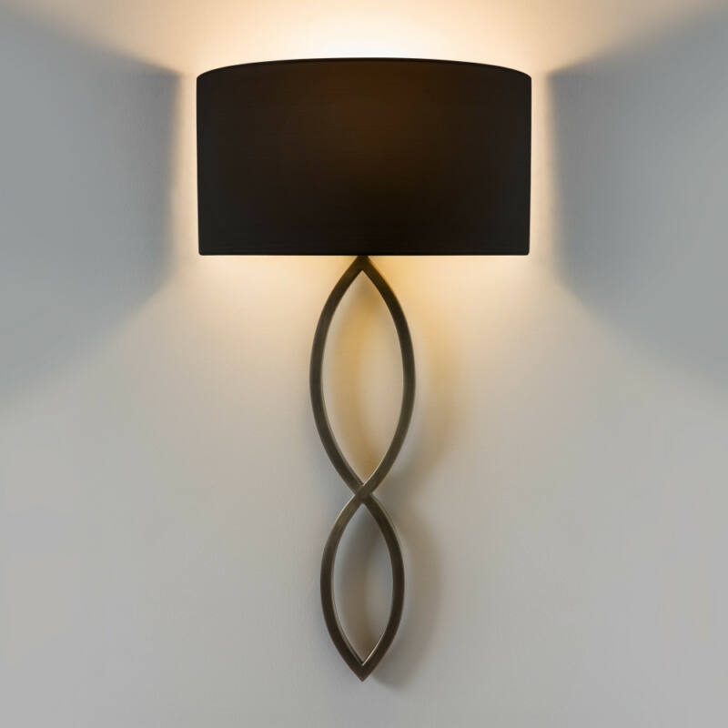 Astro Caserta 1349010 fali lámpa bronz