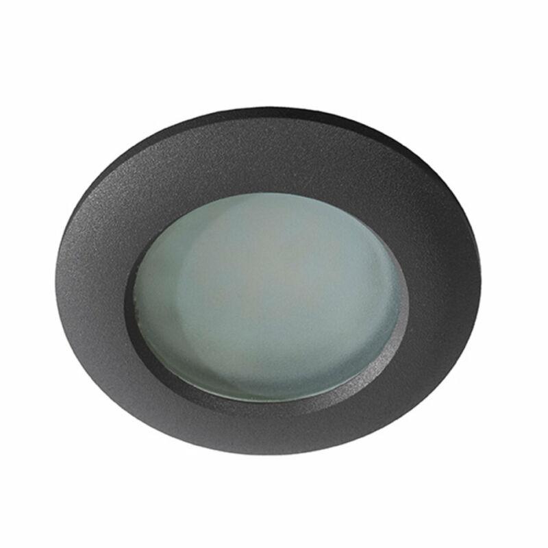 Azzardo 0809 Álmennyezetbe építhető lámpa Emilio fekete fém