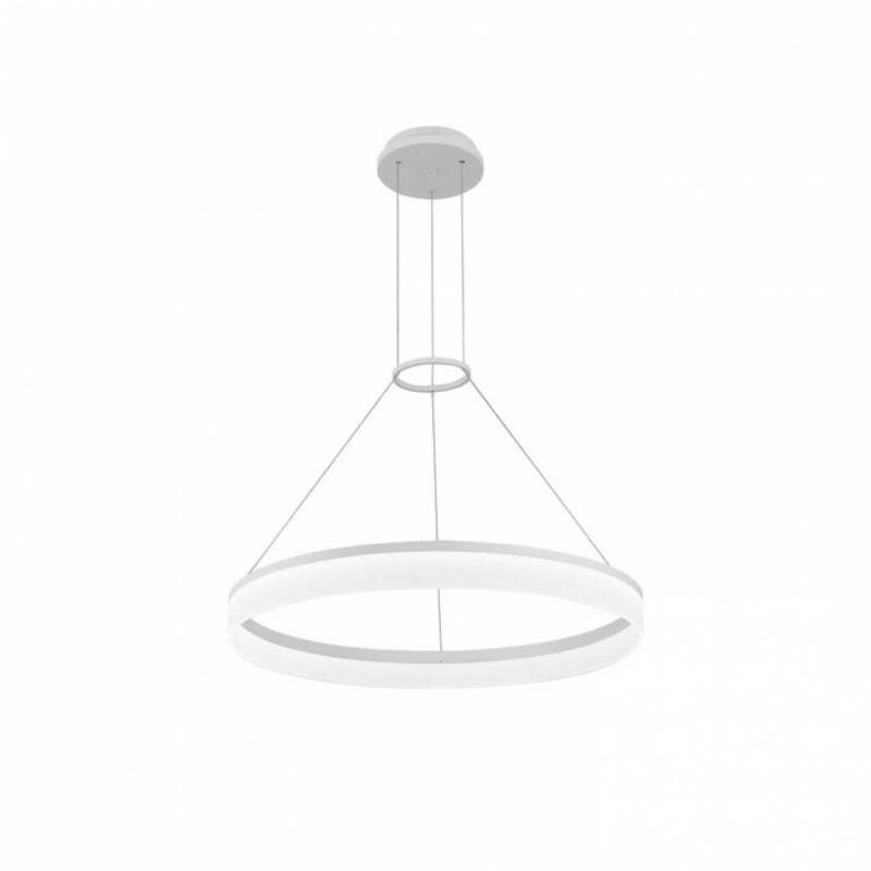 Leds-C4 CIRC 00-0001-BW-M3 modern csillár fehér alumínium