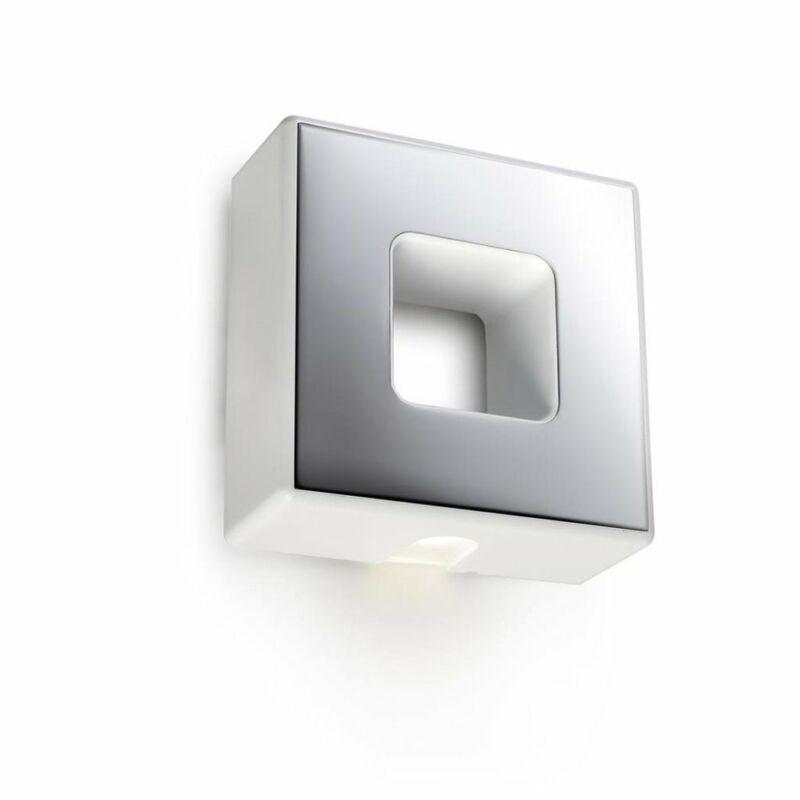 Leds-C4 LOV 05-0644-BW-BW fali lámpa matt fehér műanyag