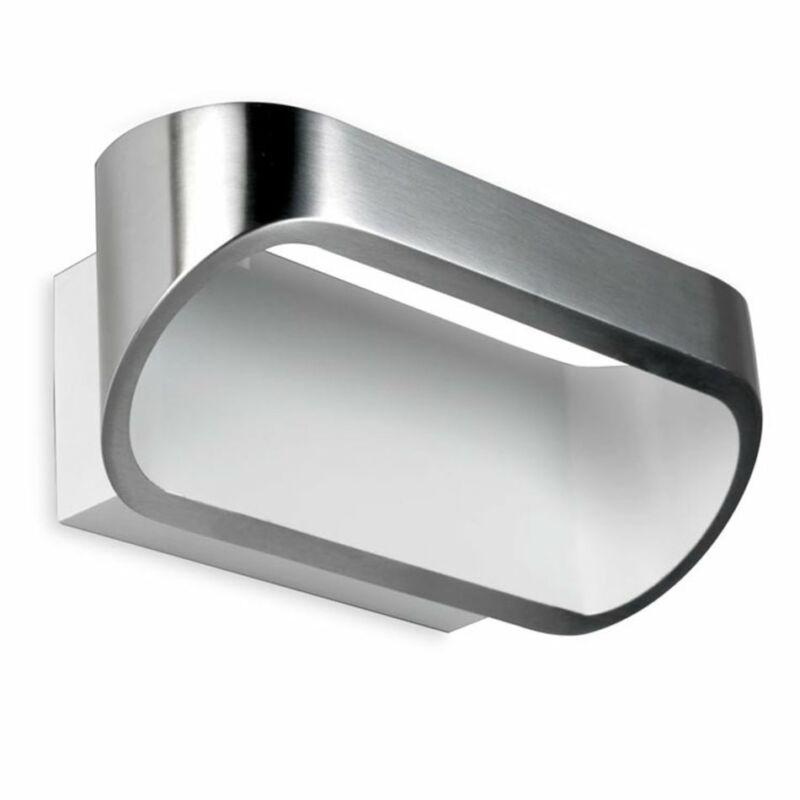 Leds-C4 OVAL 05-0070-S2-14 fali lámpa szálcsiszolt alumínium alumínium