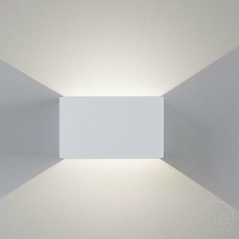 Leds-C4 JET 05-0071-14-14 fali lámpa fehér alumínium