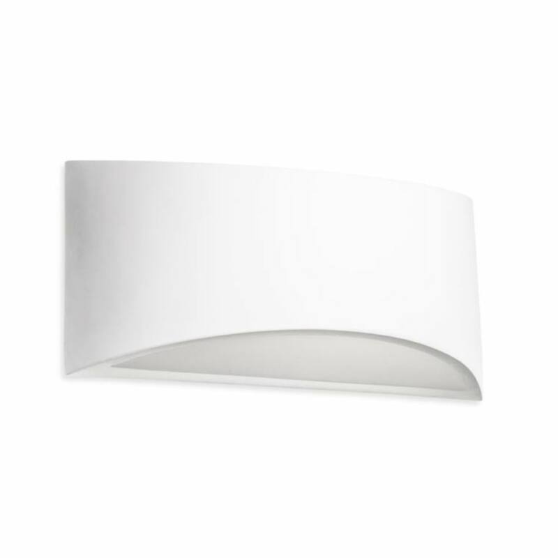Leds-C4 GES 05-1796-14-14 gipsz fali lámpa  fehér   gipsz