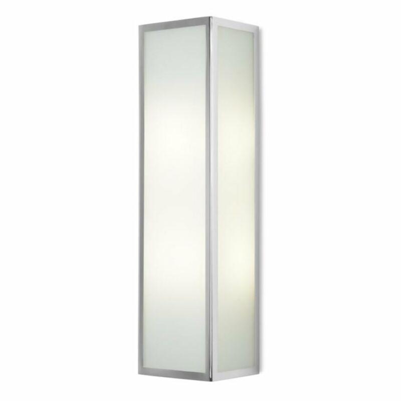 Leds-C4 FLOW 05-3213-21-B4 fali lámpa króm üveg