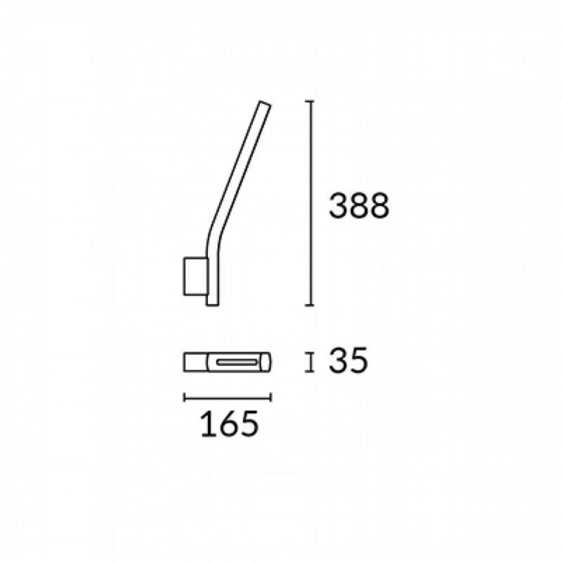 Leds-C4 ROAD 05-3251-14-M1 falikar fehér alumínium