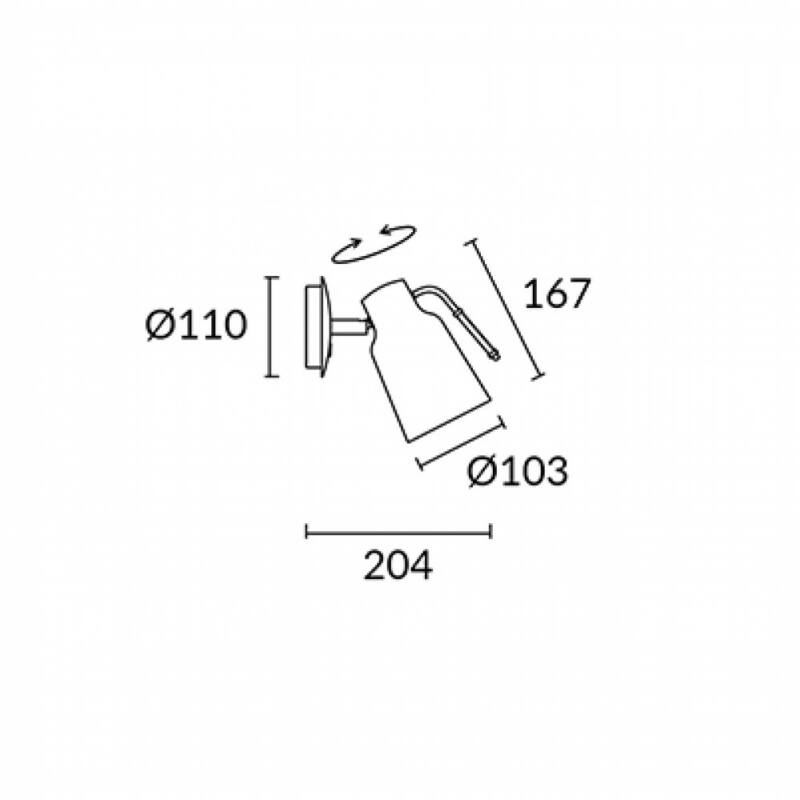 Leds-C4 FUNK 05-4755-CI-23 falikar  arany   acél