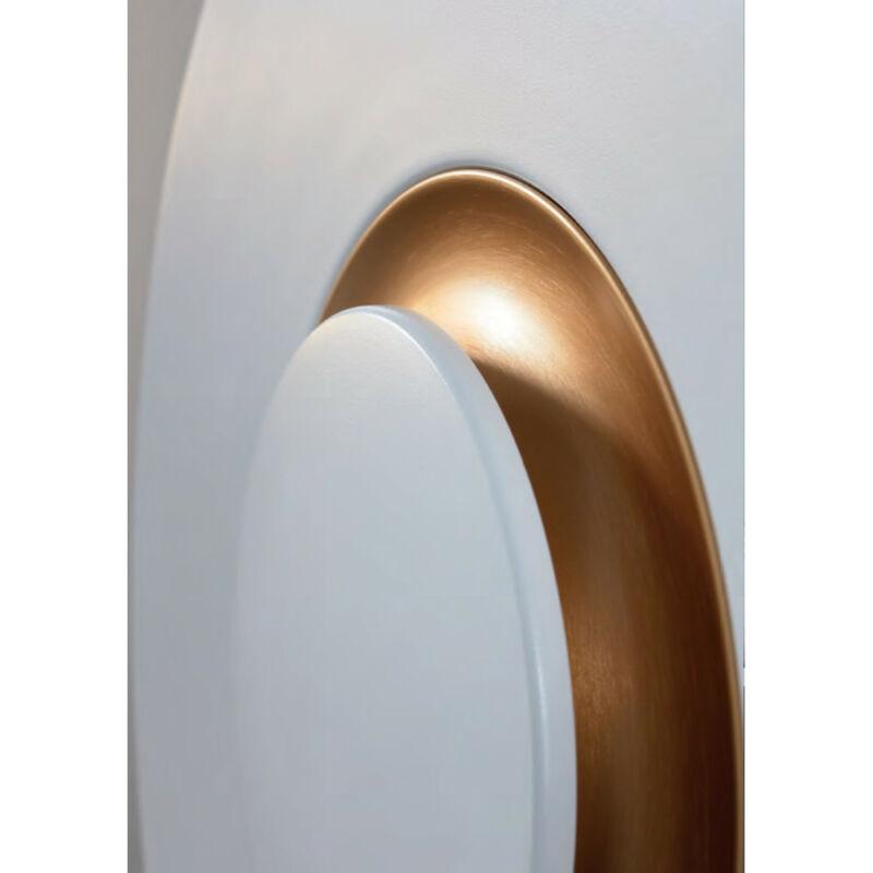 Leds-C4 BIGBANG 05-5085-BW-BW hangulatfény fehér bronz alumínium műanyag